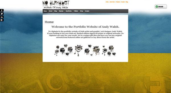 Portfolio Website Sample