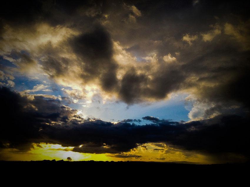 Atmospheric Sunset