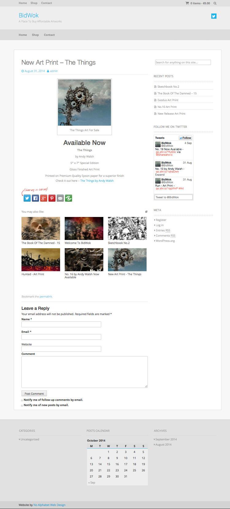 Online Selling Website - Laois Web Design